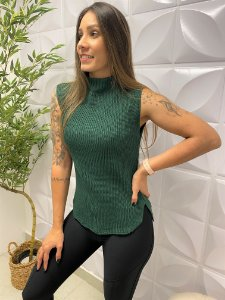 Colete Tricô Marcela Verde