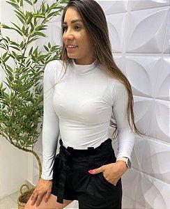 Body Patrícia Gola Branco