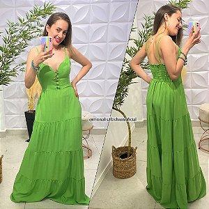 Vestido Viscose Marielle Verde