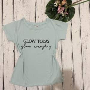 T-shirt Brilhar Hoje Azul