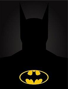 """Placa Decorativa, Coleção Heróis """"Batman"""""""