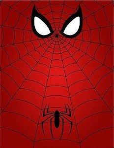 """Placa Decorativa, Coleção Heróis """"Homem Aranha"""""""