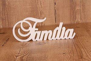 Letra Decorativa FAMÍLIA
