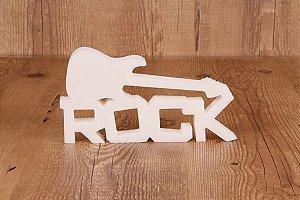 """Palavra Decorativa """"Rock"""""""