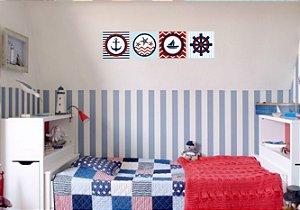 Placa Decorativa Marinheiro 20x20