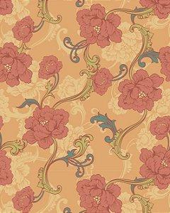 Papel de Parede Floral Elegance