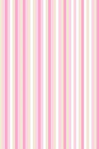 Papel de parede com Listras em Tons de Rosa