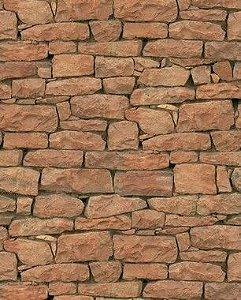 Papel de Parede Pedra com Acabamento Arredondado