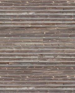 Papel de parede de madeira filetes na horizontal marom
