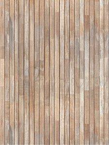 Papel de parede de madeira c/ filetes finos na vertical