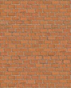 Papel de parede estilo tijolos avermelhados