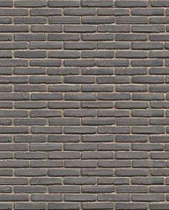 Papel de parede com Tijolinhos Cinza Escuro