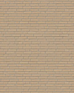 Papel de parede estilo Tijolo Marrom