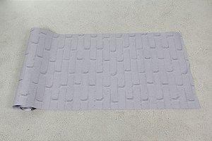 Papel de parede Tijolinhos em Cinza Claro