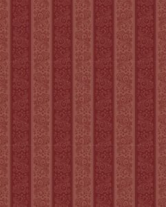 Papel de parede linha damask cores quentes