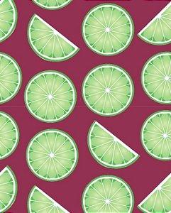 Papel de parede para Cozinha Limões