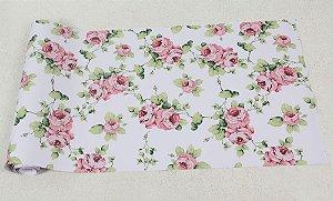 Papel de parede Floral com Rosas