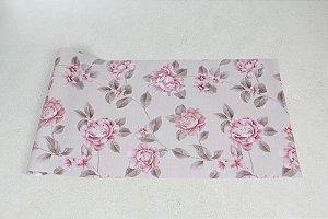Papel de Parede Floral com efeito de textura