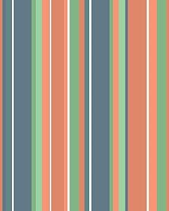 Papel de Parede com Listras Coloridas