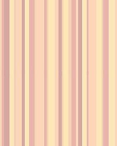 Papel de Parede com listras Rosa e Pêssego