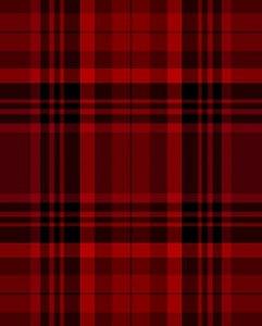 Papel de parede estilo Xadrez vermelho e Preto