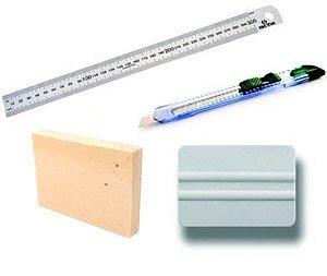 Kit Completo para Aplicação Papel de Parede