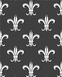 Papel de parede estilo Elegance Preto e Branco