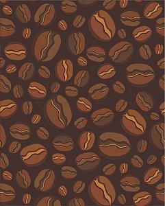 Papel de parede Cozinha Grãos de Café