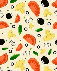 Papel de parede estilo Cozinha Pizza