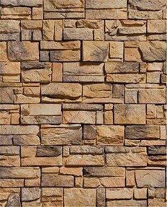 Papel de Parede Pedra Mosaico Elegante
