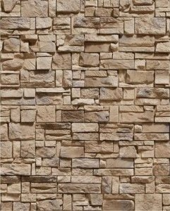 Papel de Parede Pedras Mosaico com Tamanhos Diversos