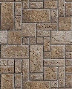 Papel de Parede Pedras Rústicas Retangulares