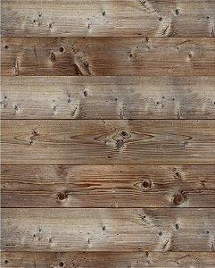 papel de parede de madeira com detalhes em furos