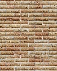 Papel de parede estilo Tijolinho à vista