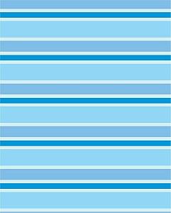 Papel de parede Listrado em tons de Azul