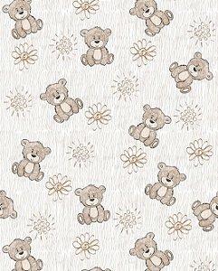 Papel de Parede Estilo Baby Ursinhos