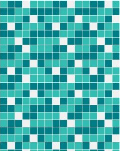 Papel de Parede Pastilhas Azul