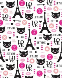 Papel de Parede Estilo Teen Love Paris