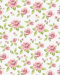 Fundo Floral Rosa Claro Png
