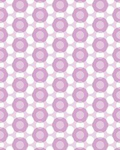 Papel de Parede Estilo Geométrico em tons de Rosa