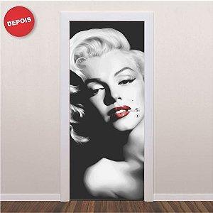 Adesivo porta Marilyn Monroe 210cm x 90cm
