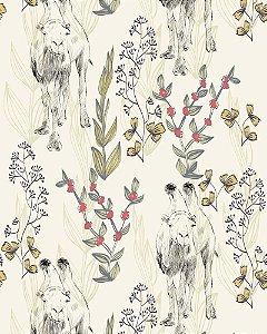 Papel de parede estilo Natura Camelos