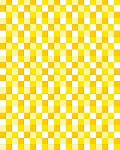 Papel de Parede Pastilhas em tons de Amarelo - 3cmts