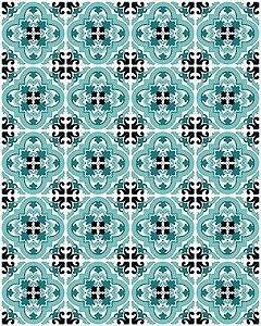Papel de Parede Azulejo Paris