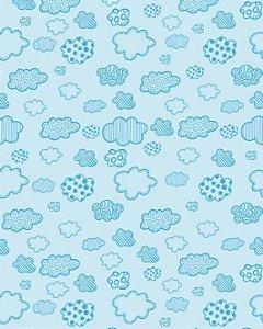 Papel de parede Estilo Baby Nuvens