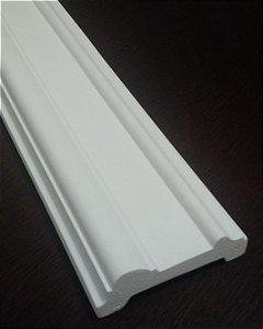 Moldura decorativa em poliuretano 2 metros GR103 branca