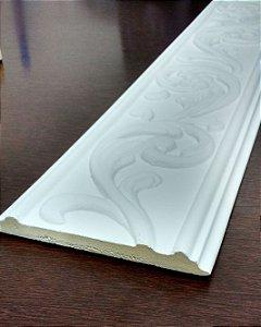 Moldura Decorativa em poliuretano 2 metros GR300 Branca