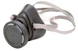 Respirador Semi-Facial 1/4 3200 3M (sem o filtro)