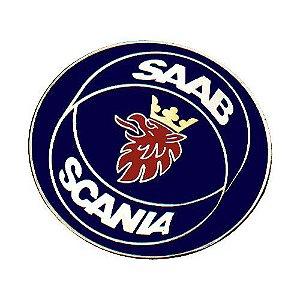 Scania T 112/113 - Emblema Galo do Capô Metálico