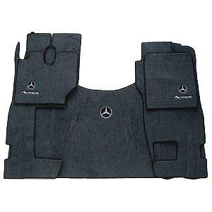 Jogo de Tapete para Caminhão Mercedes-Benz (5 peças)